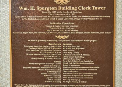 Spurgeon Building - Historical Landmark Plaque